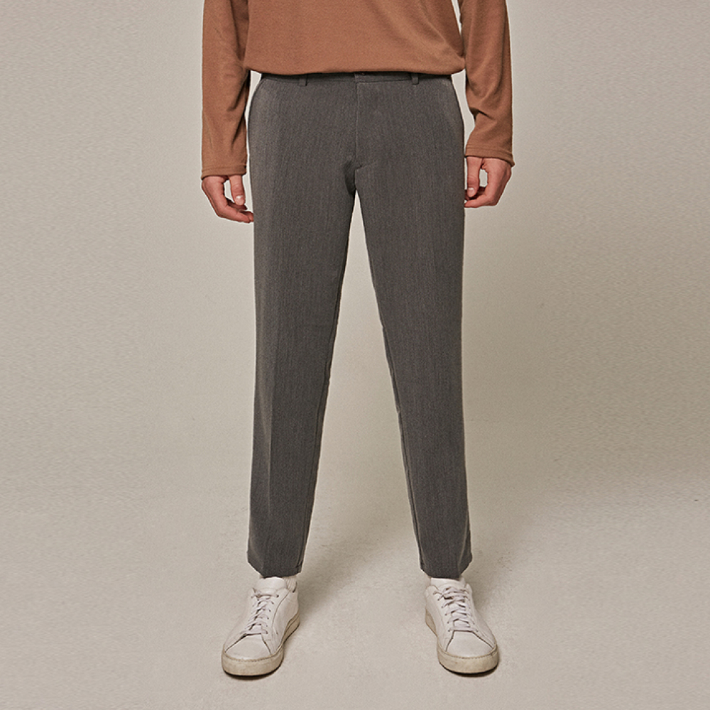 [YAN13] BASIC STRAIGHT SLACKS_GRAY