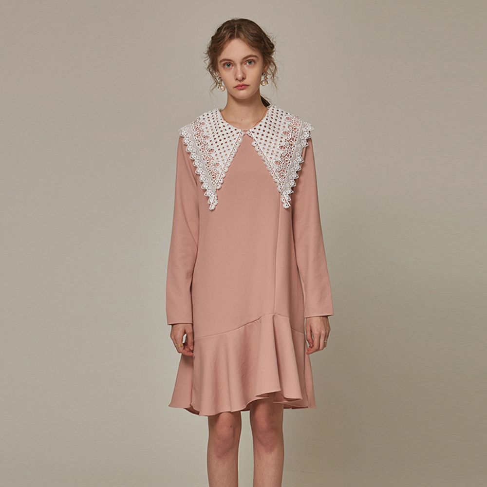 [YAN13] LC COLLAR FRILL OPS_PINK