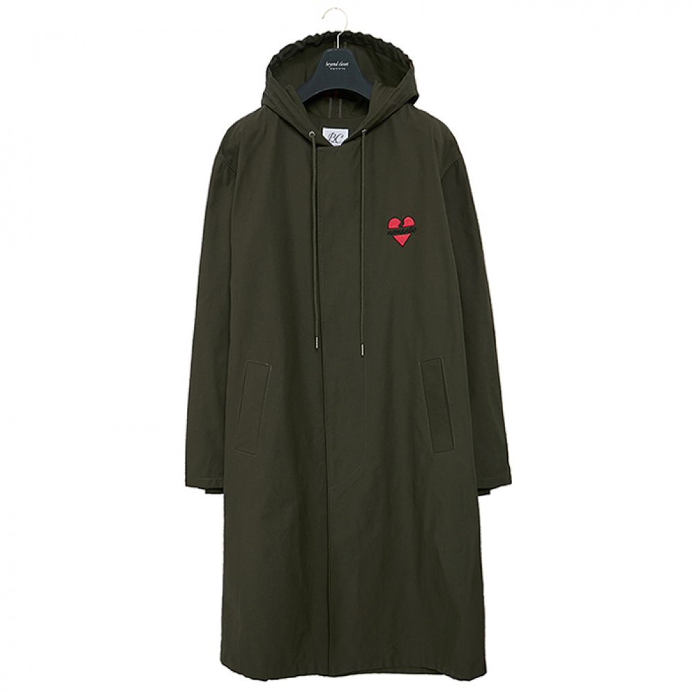 [비욘드클로젯] NOMANTIC HOOD SINGLE COAT KHAKI