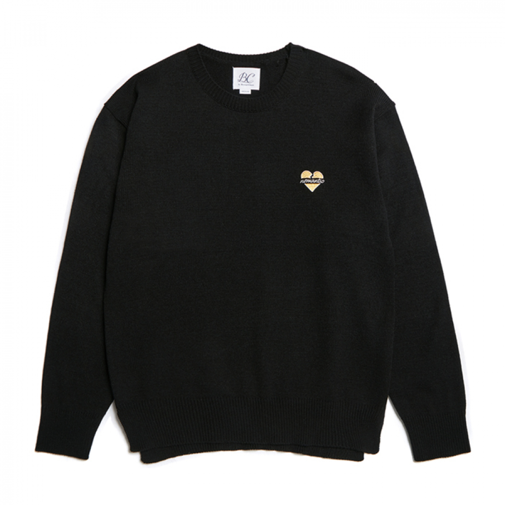[비욘드클로젯] [VALENTINE EDITION]NOMANTIC LOGO BASIC KNIT