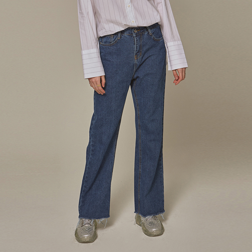 [YAN13] TRENDY LONG WIDE JEAN_DENIM