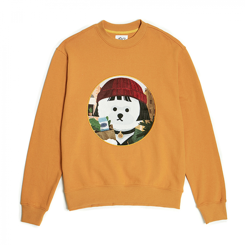 [3/5발송] MOVIE WOMEN DOG PATCH SS 2019 MUSTARD