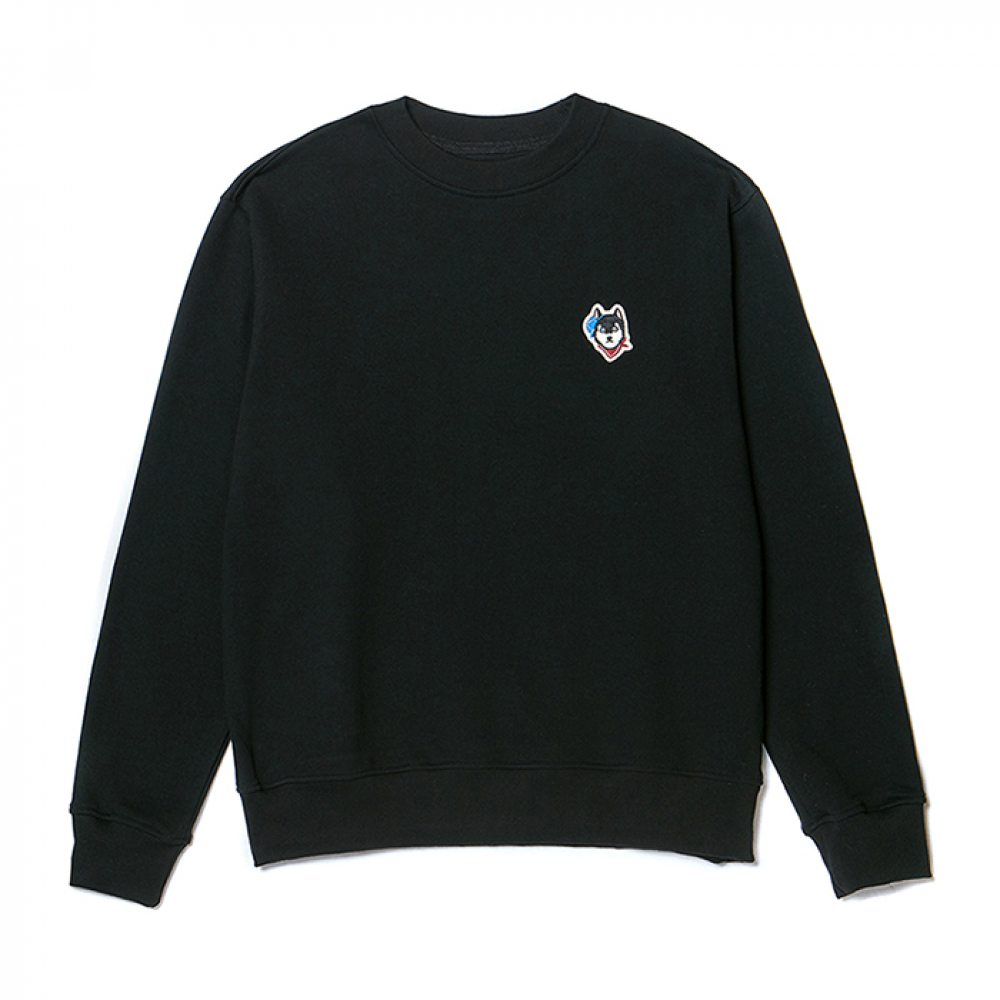 [비욘드클로젯] [NOJAMBOT X BC]CM BASIC LOGO SWEAT-SHIRTS BLACK