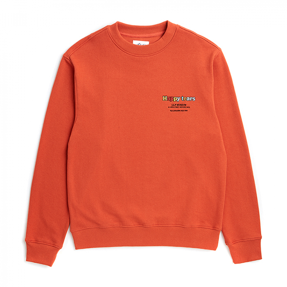 [비욘드클로젯] ILP POP-TEARS DOG PATCH SWEAT-SHIRTS ORANGE