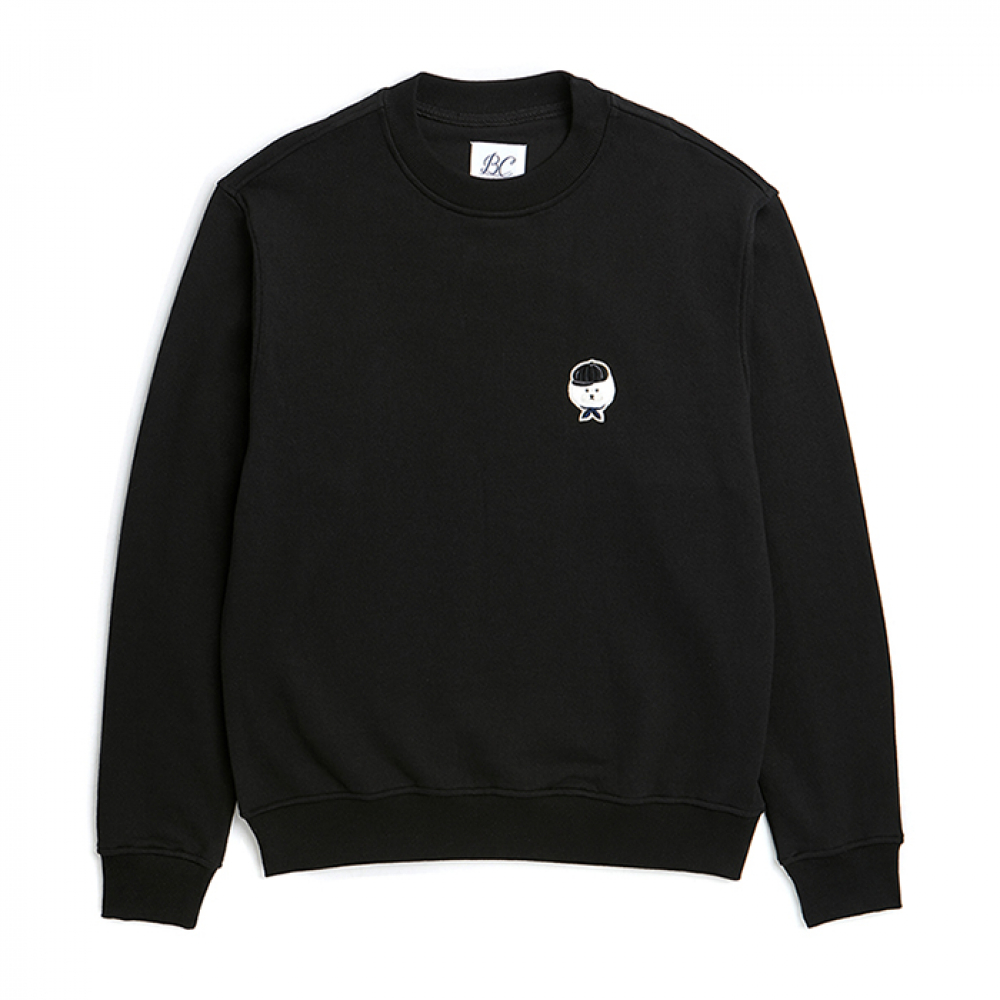[비욘드클로젯] ILP SIGNATURE BASIC LOGO SWEAT-SHIRTS 2019VER BLACK