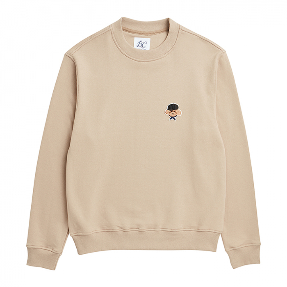 [비욘드클로젯] ILP SIGNATURE BASIC LOGO SWEAT-SHIRTS 2019VER BEIGE