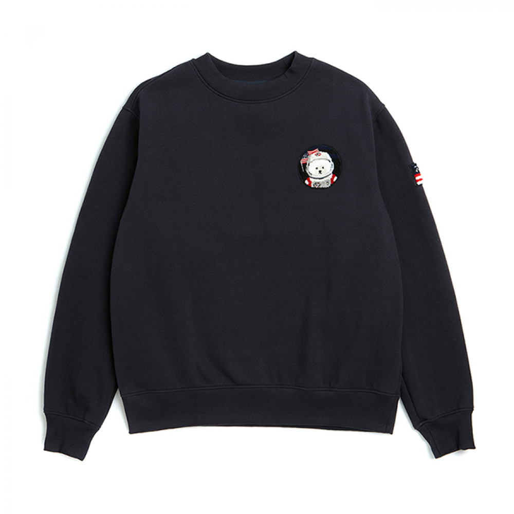 [비욘드클로젯] [RE-EDITION]APOLLO W-WAPPEN SWEAT-SHIRTS 2019VER NAVY