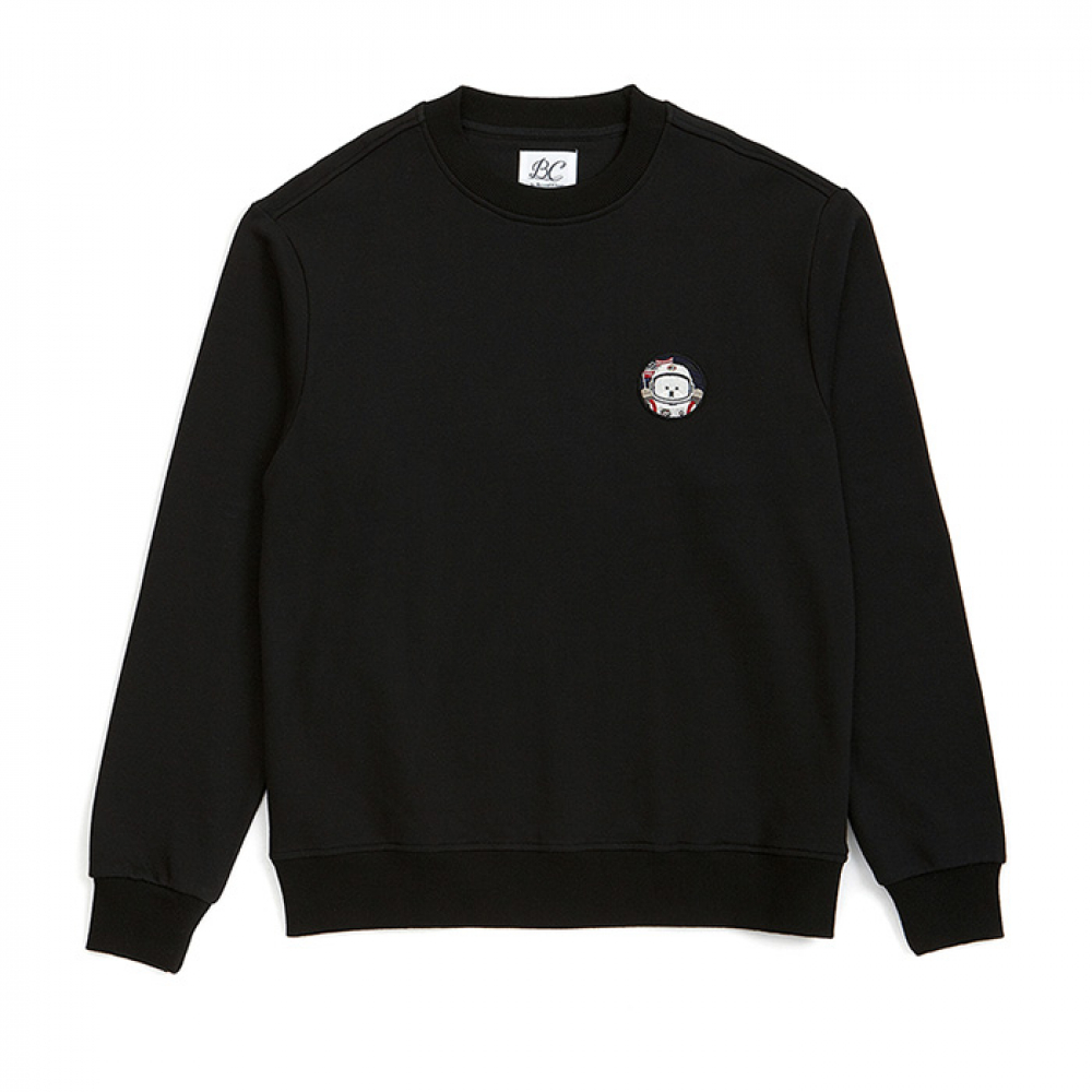 [비욘드클로젯] [RE-EDITION]APOLLO DOG WAPEEN SWEAT-SHIRTS BLACK