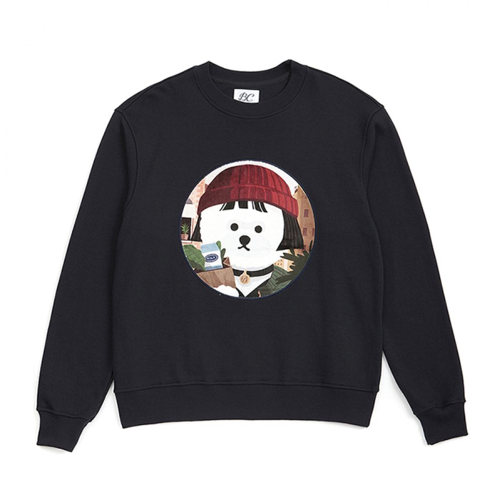 [SMALL-2/28출고][XSMALL3/7출고][ MOVIE WOMEN DOG PATCH S-S 2019VER NAVY