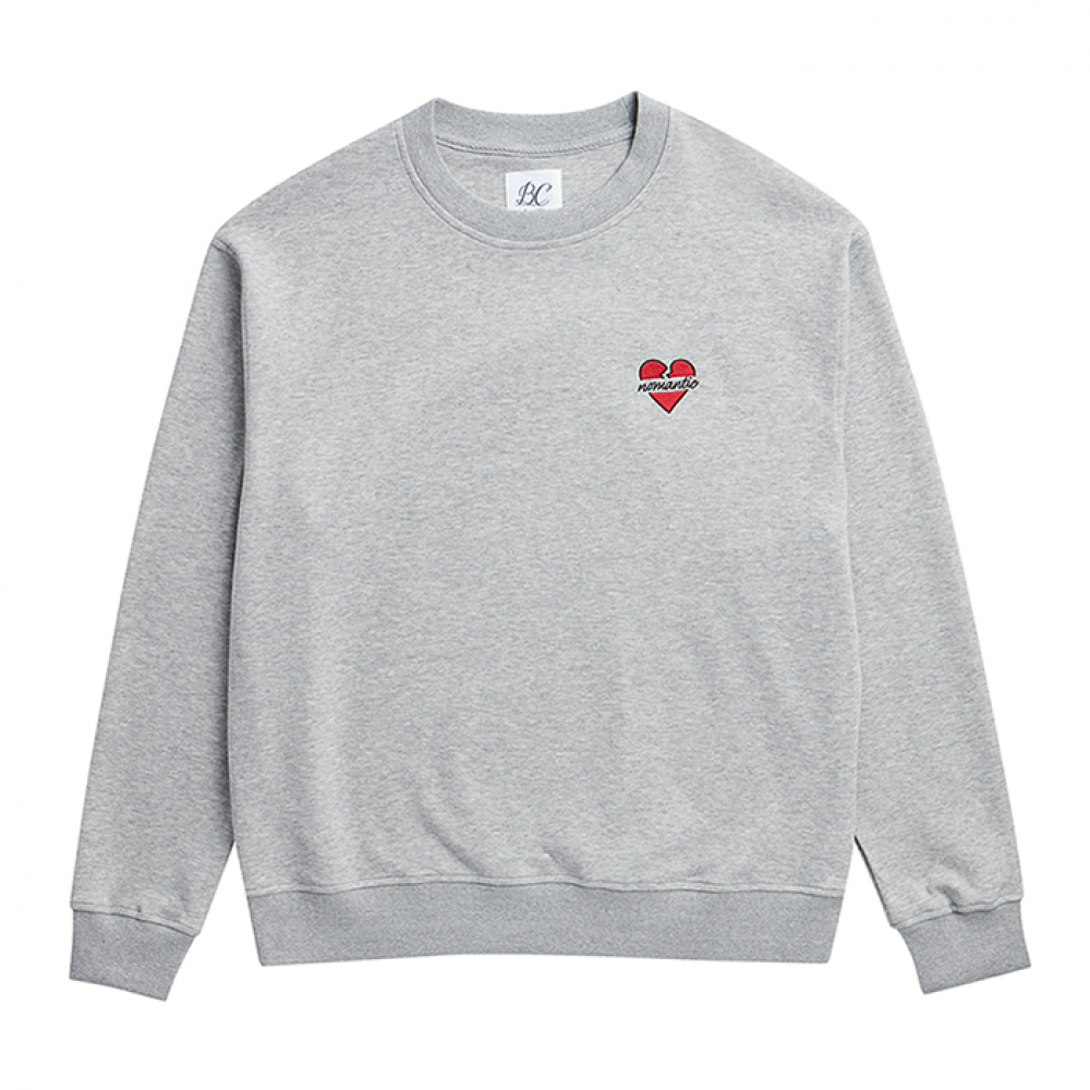 [2/28출고] NOMANTIC BASIC LOGO T-S GRAY 2019VER