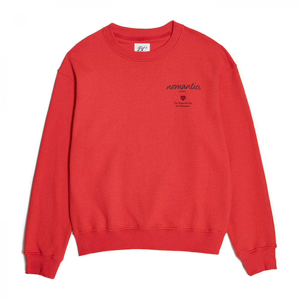 NOMANTIC STORYLINE SWEAT-SHIRTS CORAL