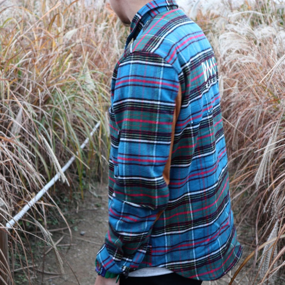 [알엔엠에스] SUEDE CHECK SHIRTS2