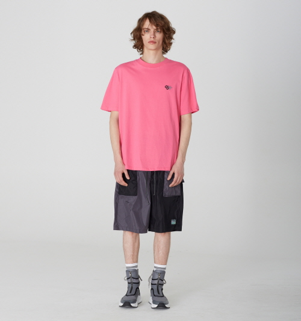 [디바이디그낙] Nylon Oversize Pocket Shorts (GE)