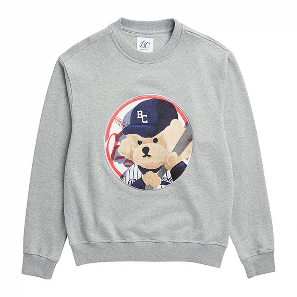 [3/25출고] ILP NY BASEBALL DOG PATCH S-S GRAY
