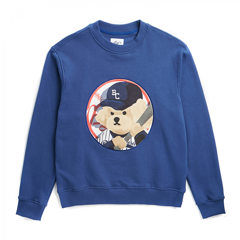 ILP NY BASEBALL DOG PATCH S-S BLUE