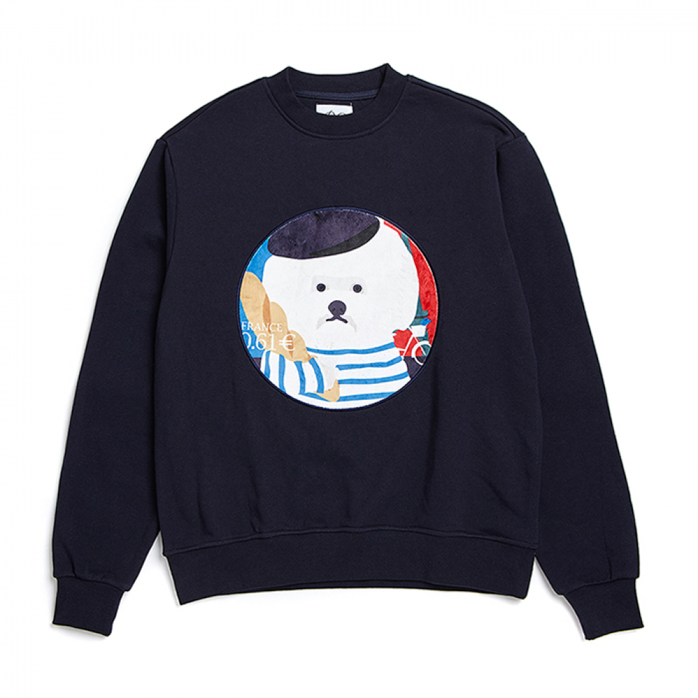 PARIS DOG PATCH S-S 2019VER NAVY