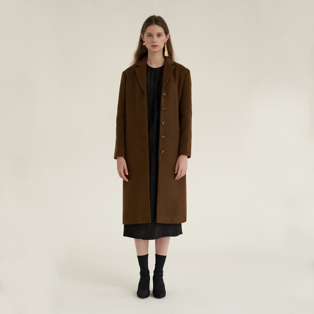 [노타] WARM DEVELOP COAT BROWN