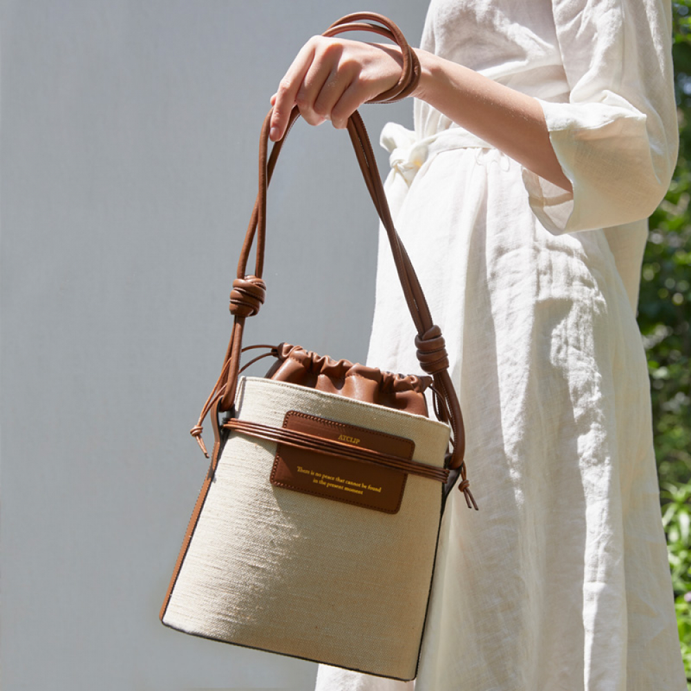 [엣클립]MOMENT BAG (TAN BROWN)
