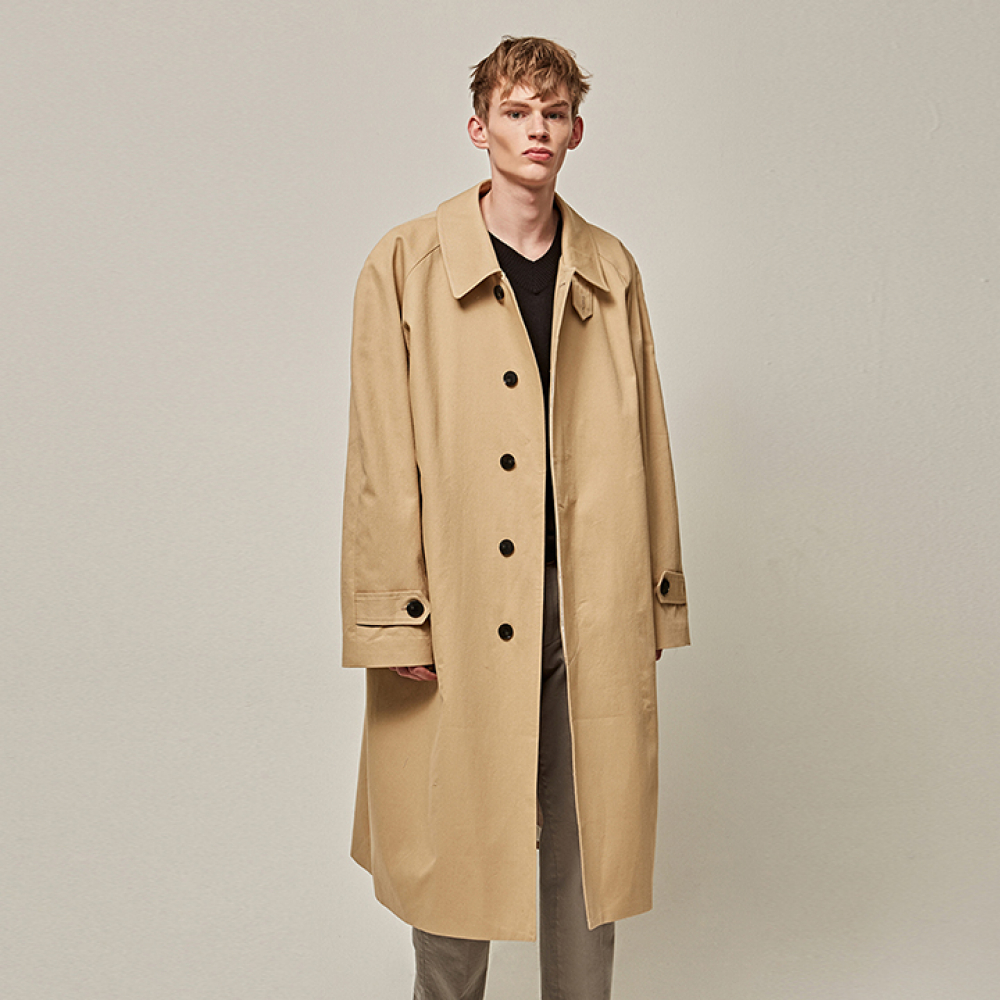 [YAN13] SUPER OVER SIZE MAC COAT_BEIGE