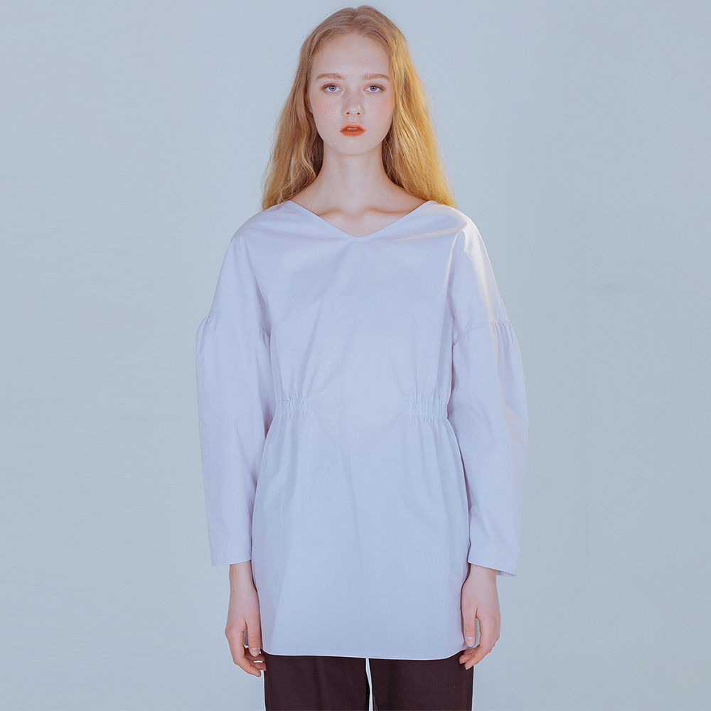 [PHILOCALY] Bud blouse_light grey