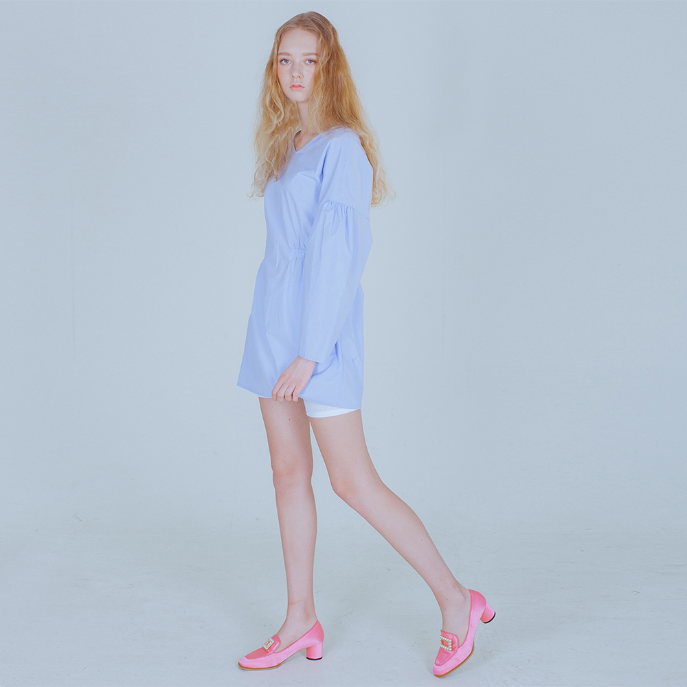 [PHILOCALY] Bud blouse_light blue