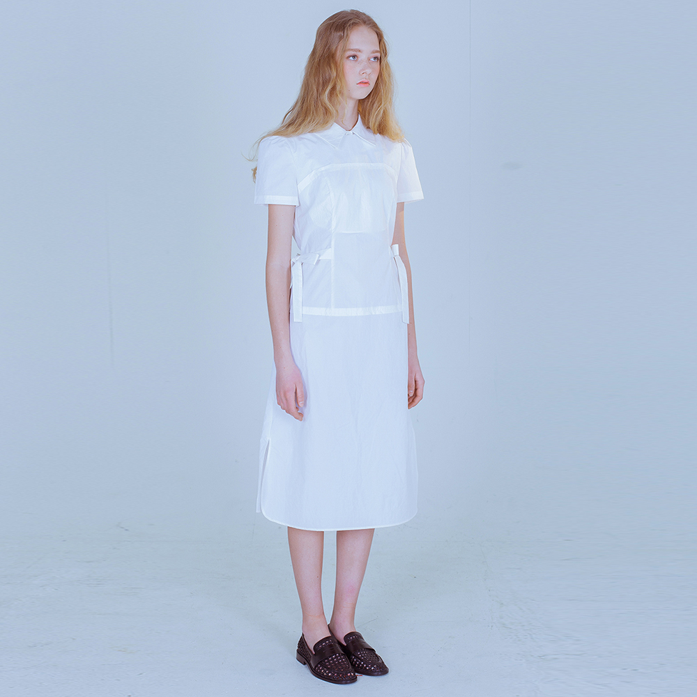 [PHILOCALY] Ivory layered dress set