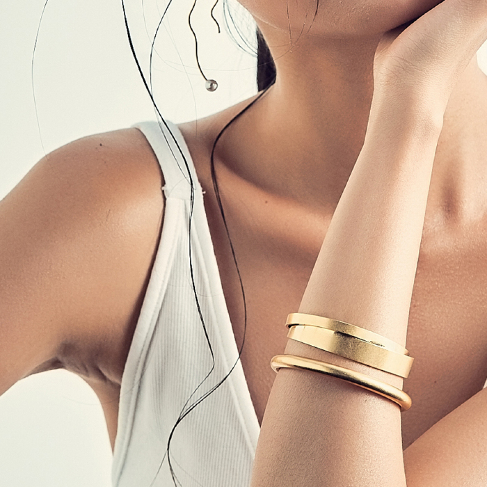 [엘리오나] Golden Bangles set