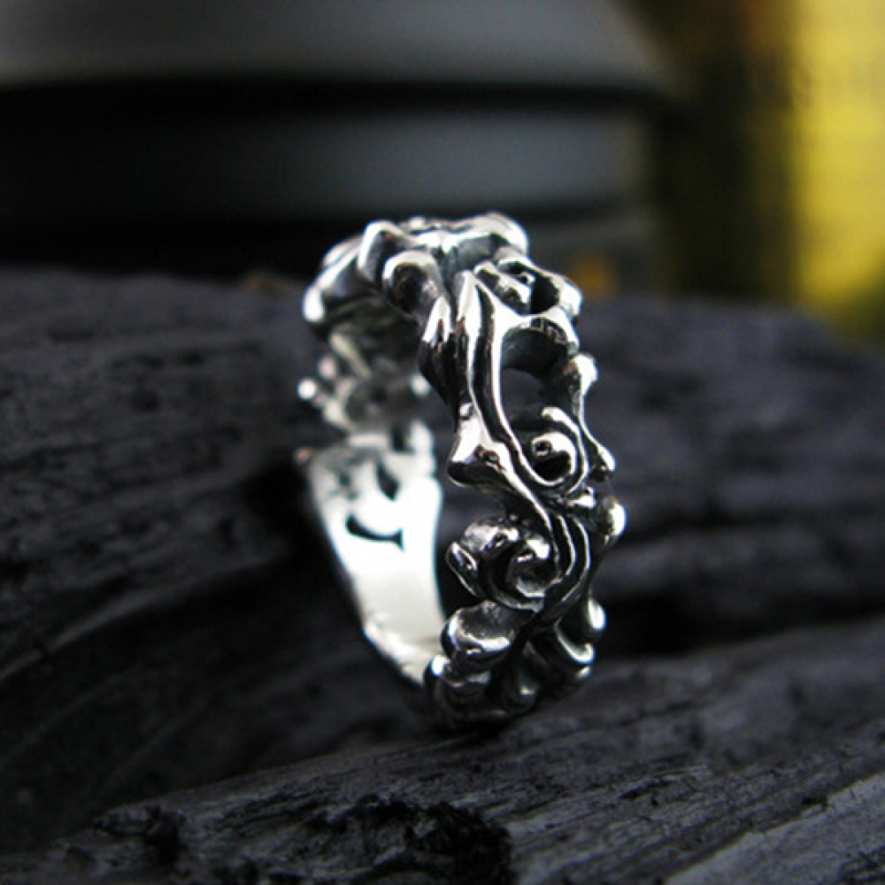 [스털링워스] Life thread silver ring