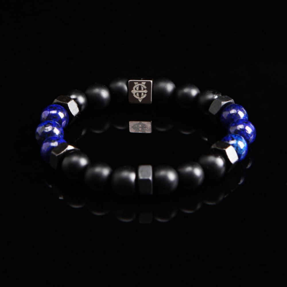 [에잇볼륨] EV Nut Bead Bracelet(Blue)