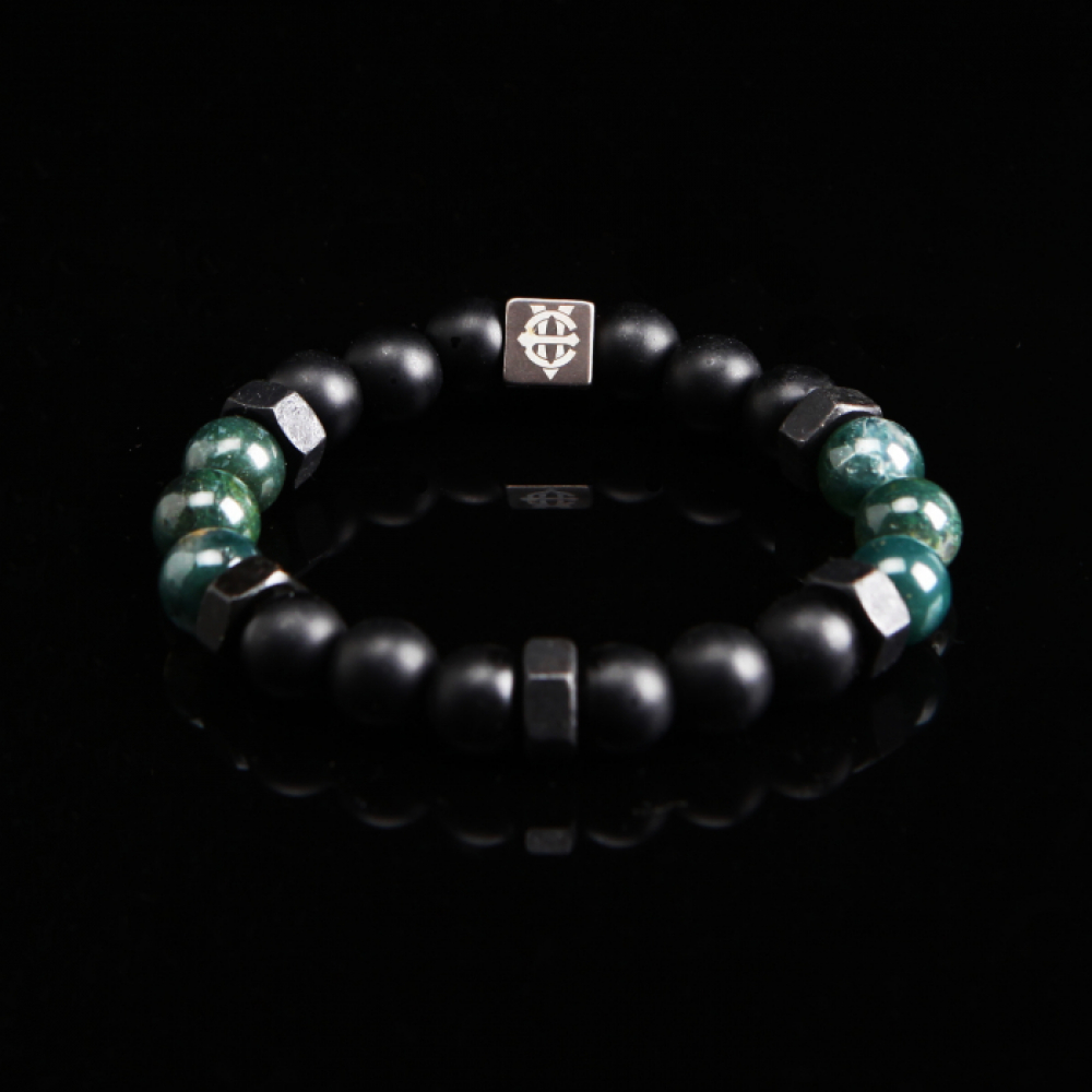 [에잇볼륨] EV Nut Bead Bracelet(Green)