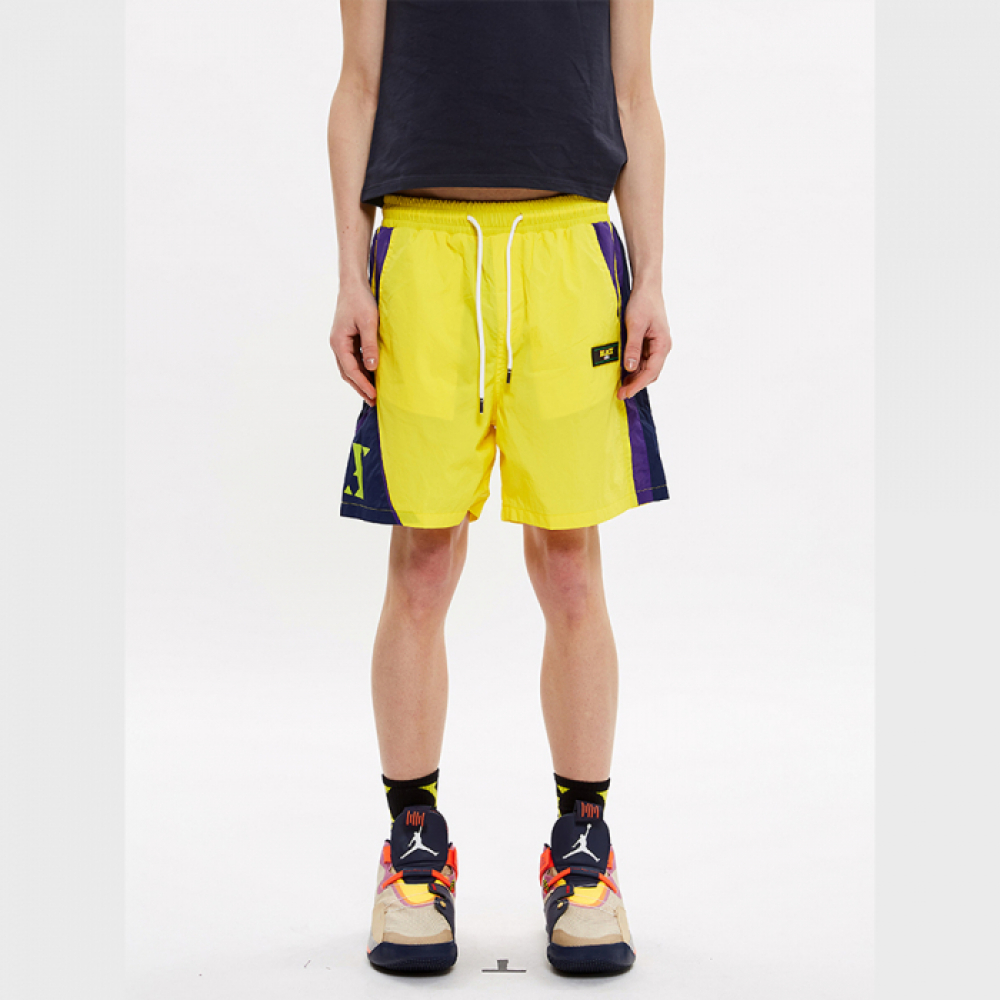 [블락스] SHORTS YELLOW (X-LOGO)