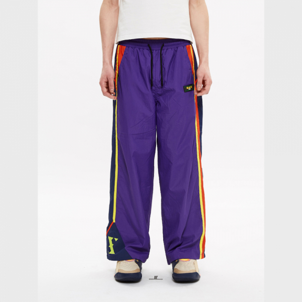 [블락스] TRACK PANTS PURPLE (LOGO)