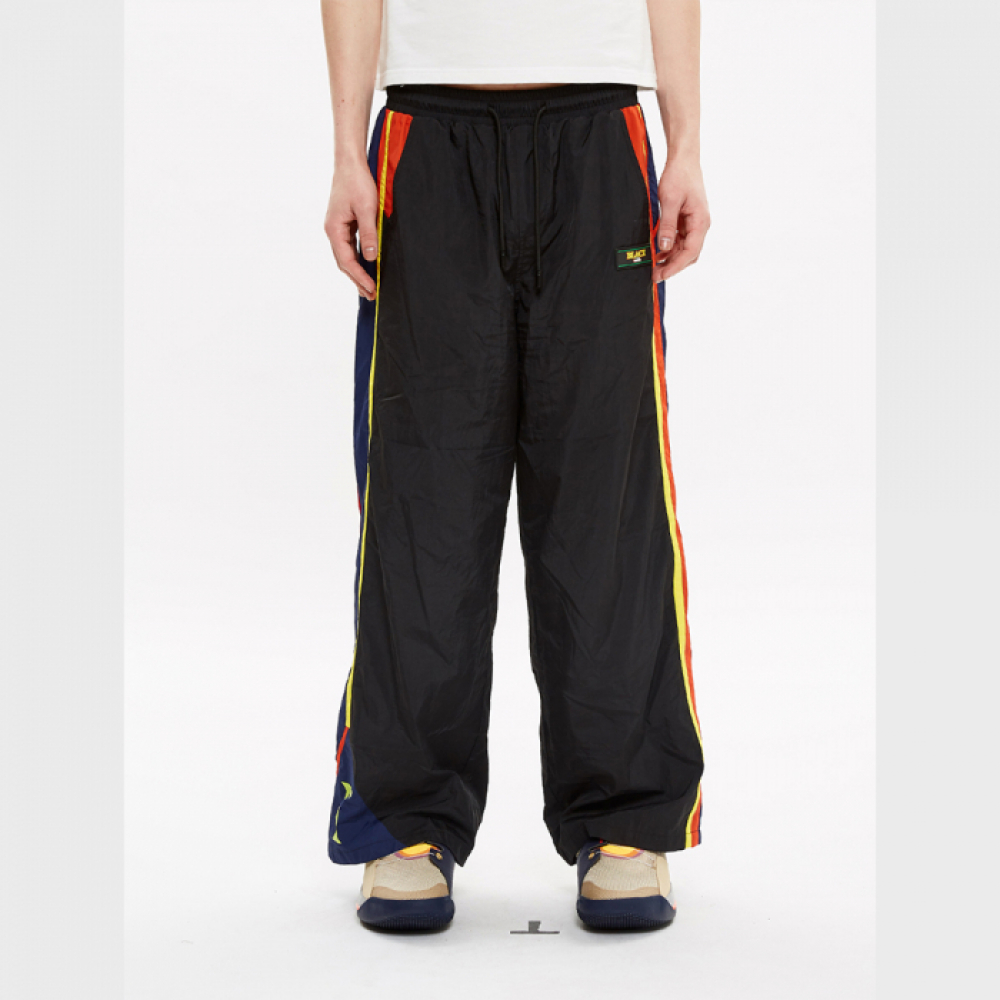 [블락스] TRACK PANTS BLACK (LOGO)