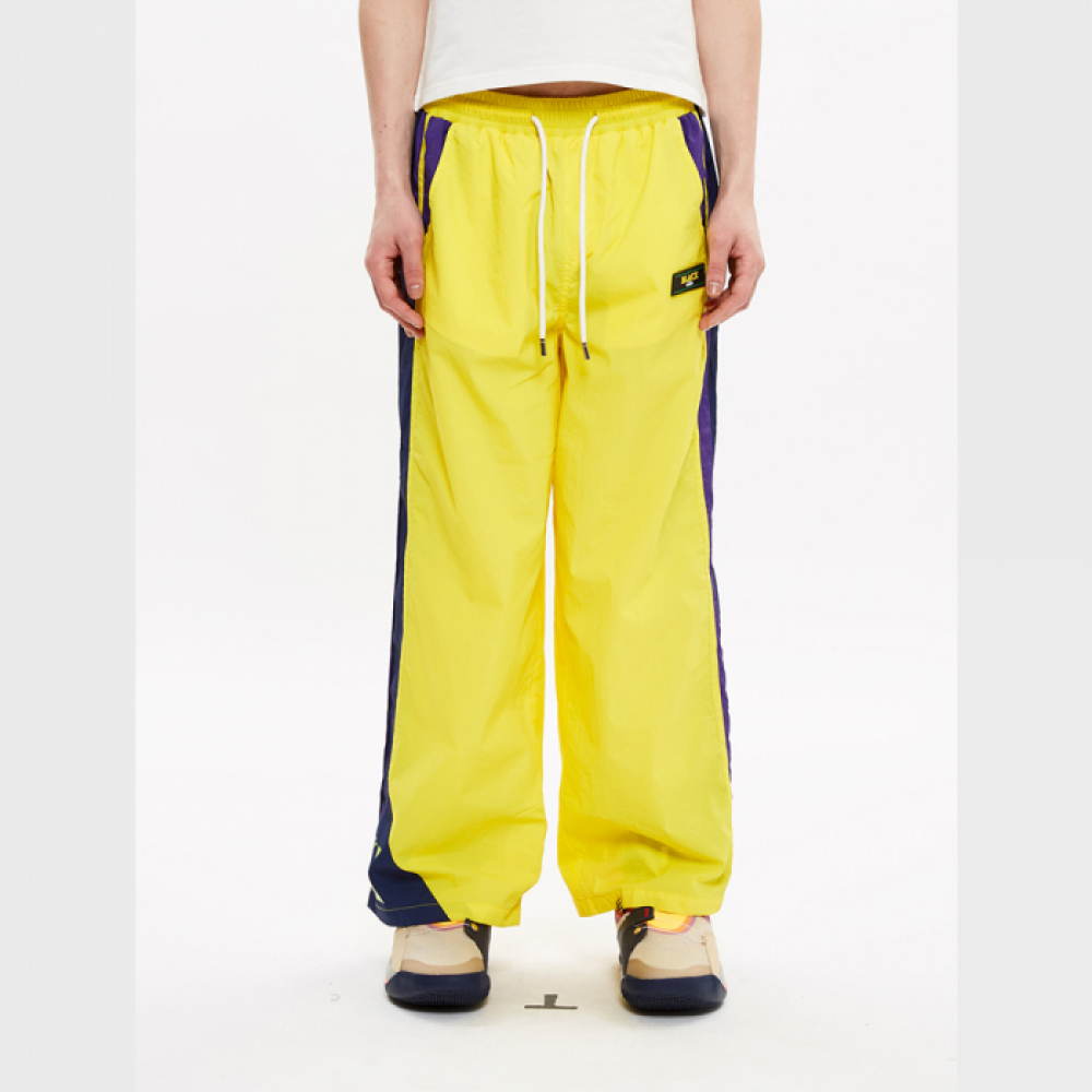 [블락스] TRACK PANTS YELLOW (LOGO)