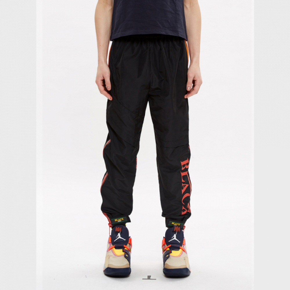 [블락스] JOGGER PANTS BLACK / RED
