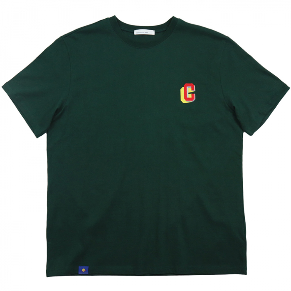 [COMSPACE1980] Point Number T-Shirt GREEN