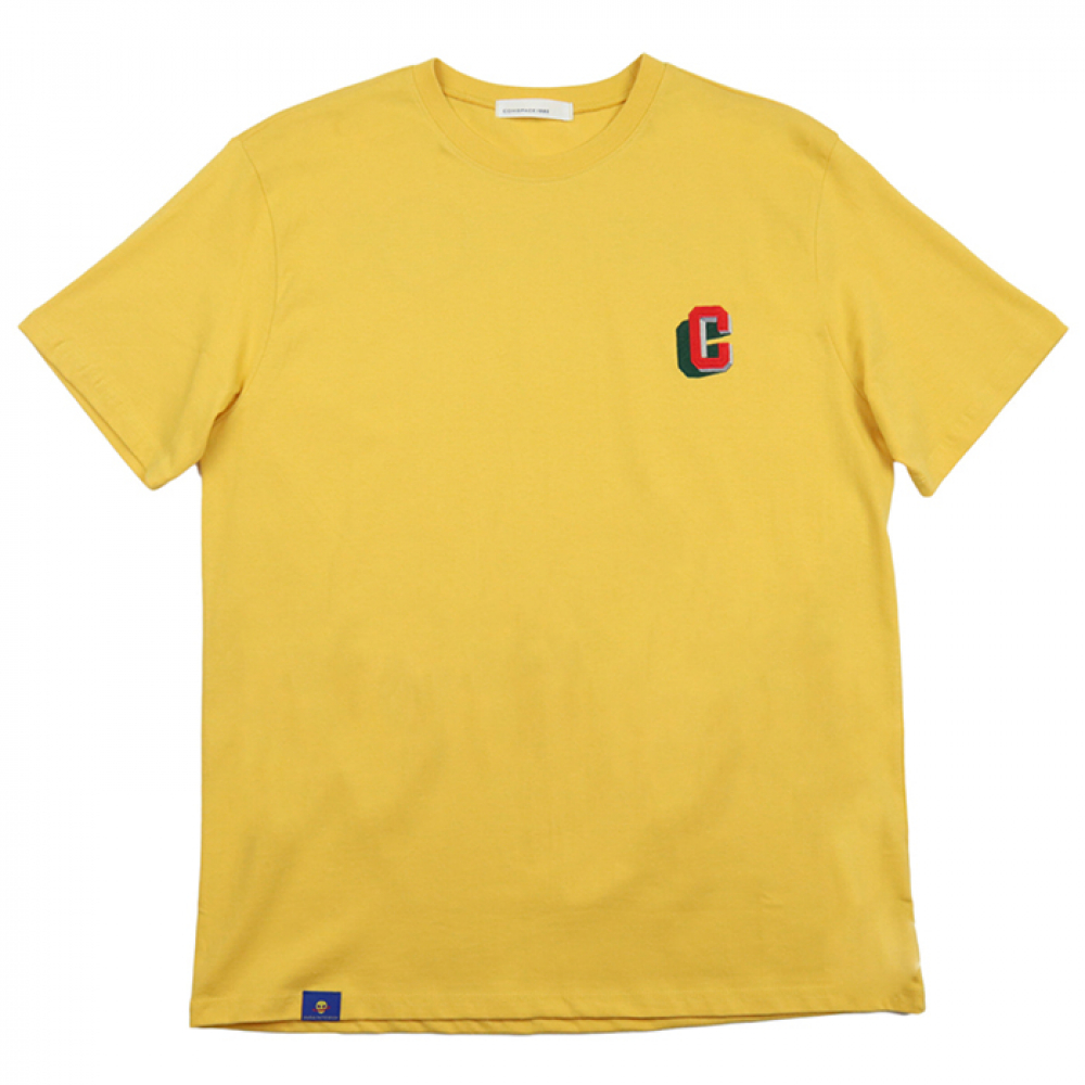 [COMSPACE1980] Point Number T-Shirt YELLOW