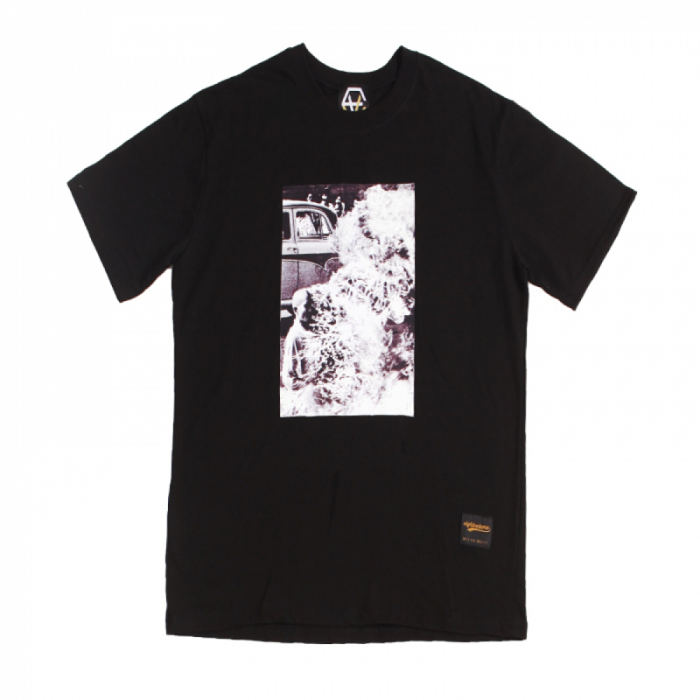 [에잇볼륨] EV Narvana Tee (Black)