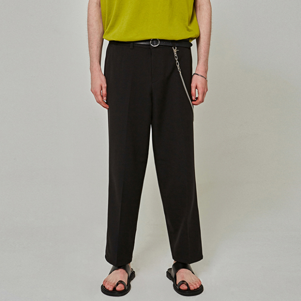 [YAN13] EASY TRENDY WIDE SLACKS_BLACK