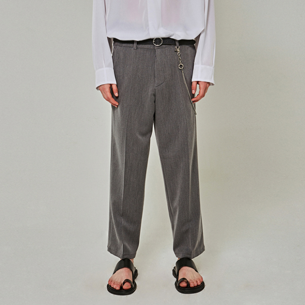 [YAN13] EASY TRENDY WIDE SLACKS_GRAY