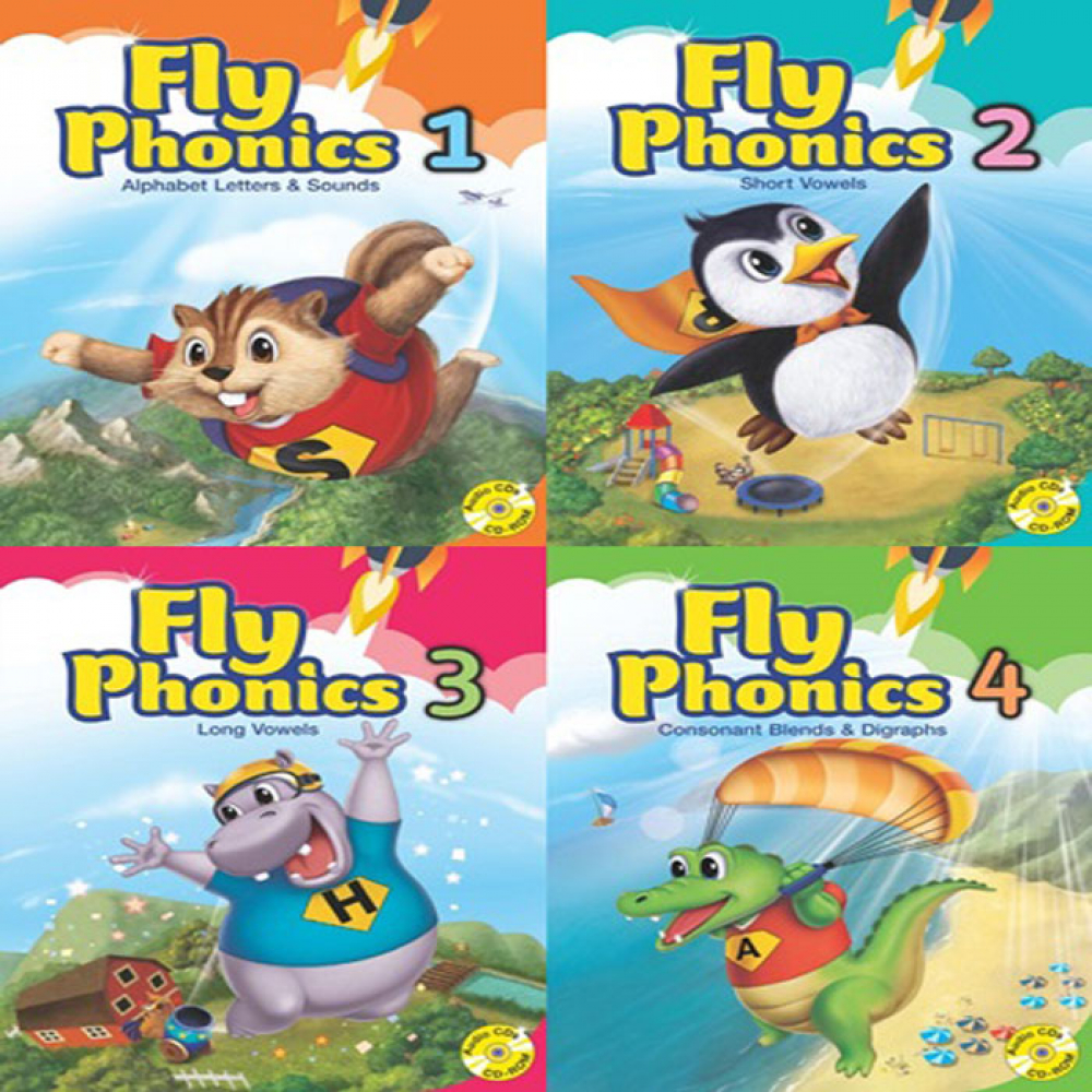 [Phonics] [선택구매] 플라이파닉스 Fly Phonics 1,2,3,4 SB Student book