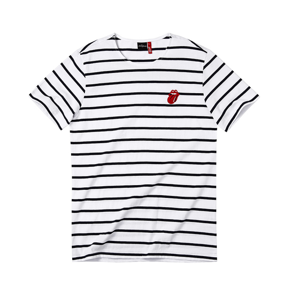 [브라바도] THE ROLLING STONES VINTAGE TONGUE STRIPE WH