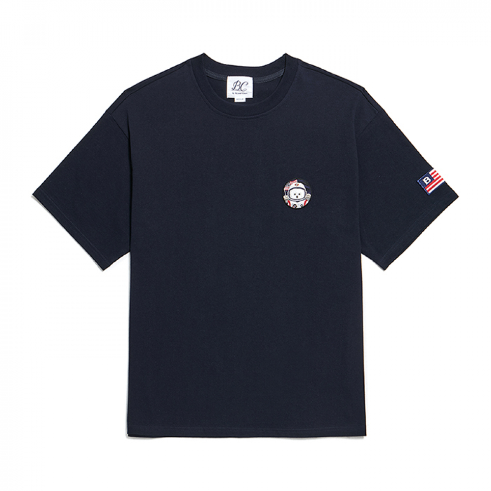 [RE-EDITION]APOLLO W-WAPPEN 1/2 T-SHIRTS NAVY