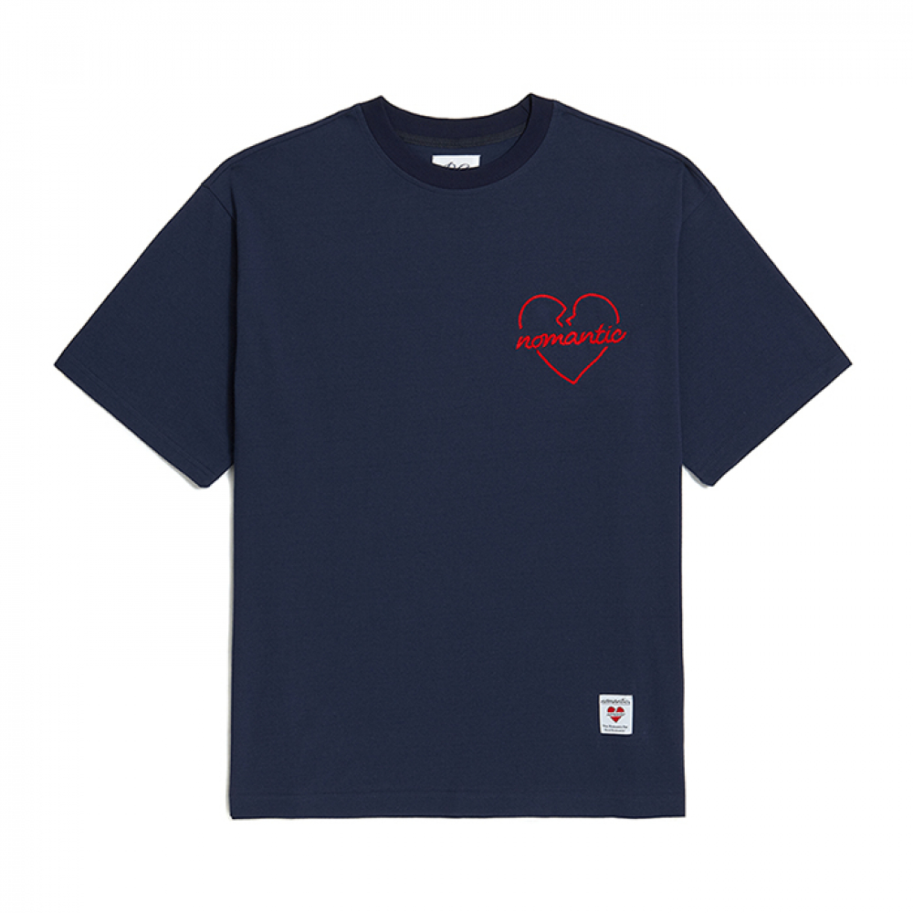 [비욘드클로젯] NOMANTIC ORIGINAL ROPE 1/2 T-SHIRTS NAVY