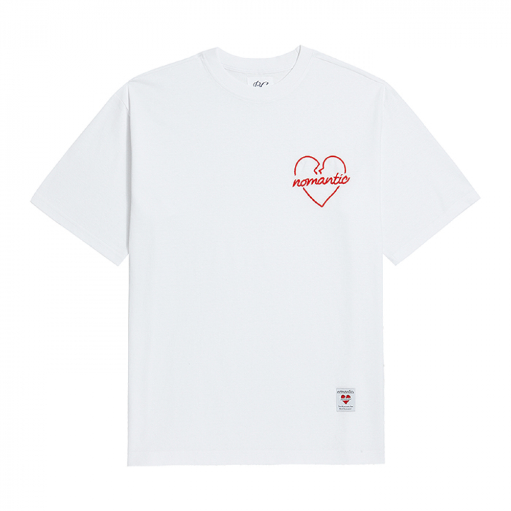 [비욘드클로젯] NOMANTIC ORIGINAL ROPE 1/2 T-SHIRTS WHITE
