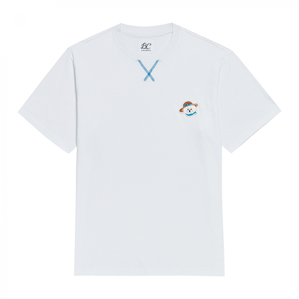 [비욘드클로젯] ILP VACATION DOG SIGNATURE 1/2 T-SHIRTS WHITE
