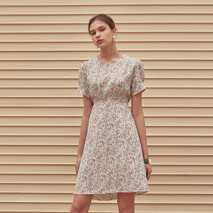 [YAN13] LILY FLARE MIDI OPS_IVORY
