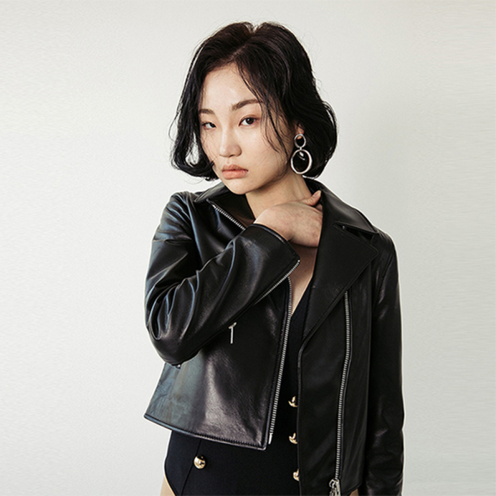 [스페로네] LAMB SKIN MJ RIDER JACKET [BLACK]