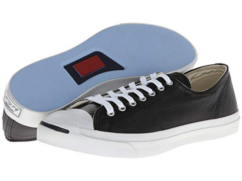 Jack Purcell® Leather - Black/White